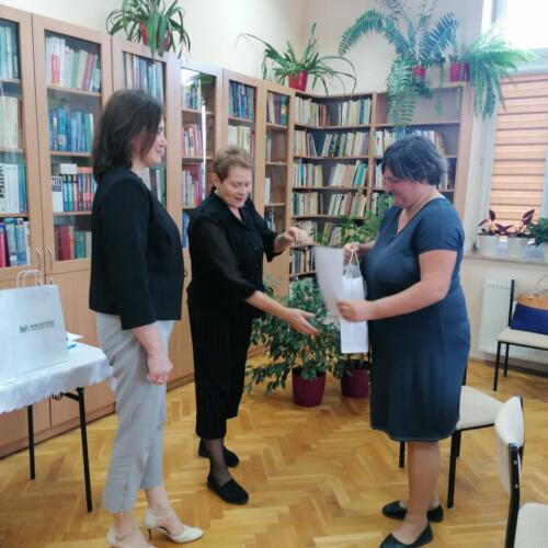 Wręczenie dyplomów i nagród